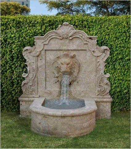 室内壁泉 园林壁泉 大理石壁泉 bq18欧式壁泉壁泉石雕壁泉; 壁泉 欧式