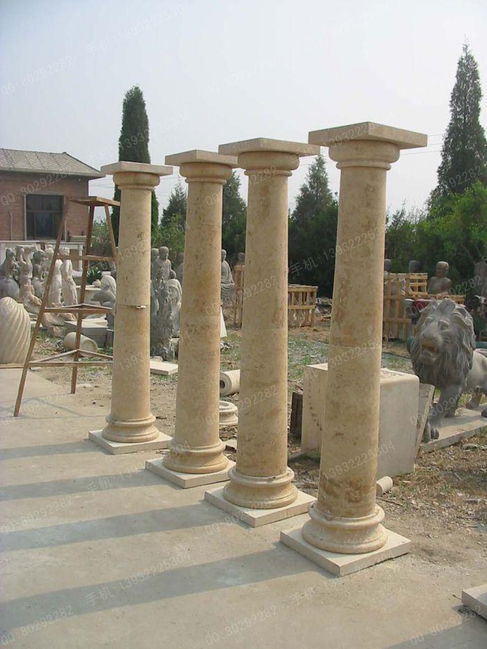 罗马柱,石雕罗马柱,大理石罗马柱,汉白玉罗马柱,花岗岩罗马柱,欧式