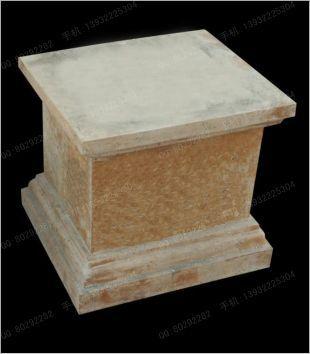石材底座,装饰石雕罗马柱