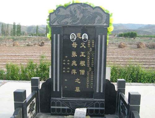 墓碑雕刻,逝者名片的艺术设计